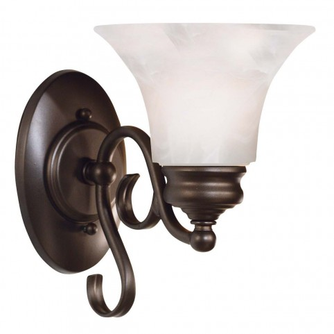 Wynwood Burnished Bronze 1 Light Sconce