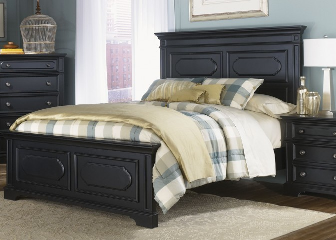 Carrington II King Panel Bed