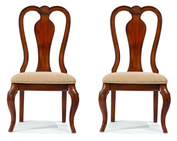 Evolution Queen Anne Side Chair Set of 2
