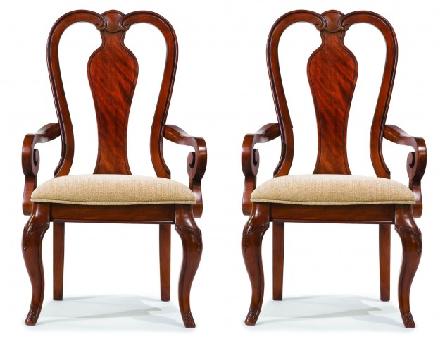Evolution Queen Anne Arm Chair Set of 2