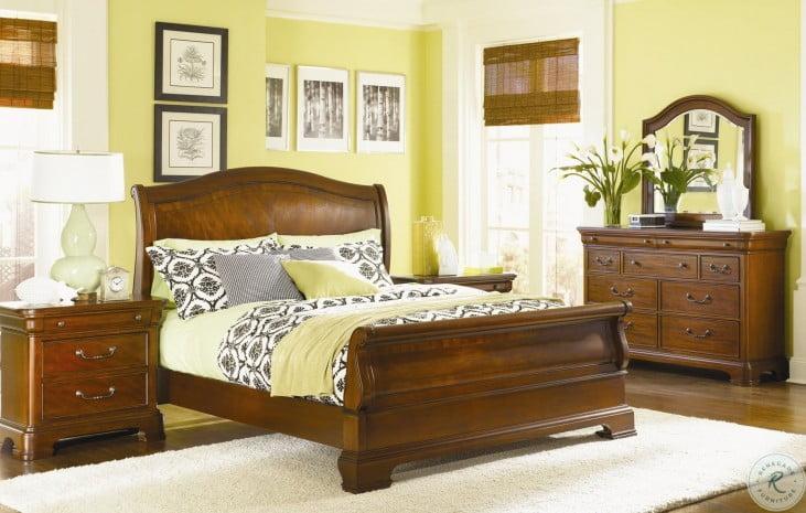 Evolution Sleigh Bedroom Set