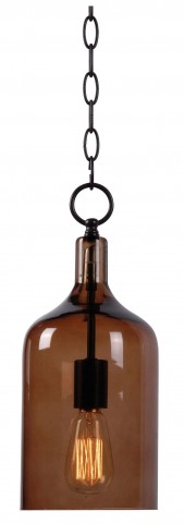 Capri Oil Rubbed Bronze 1 Light Mini Pendant