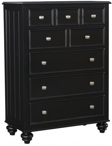 Camden Black Drawer Chest