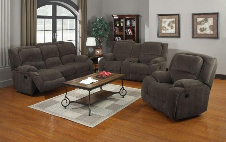 Caesar Nimbus Seal Reclining Living Room Set