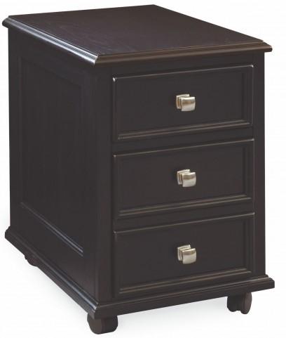 Camden Black File/Drawer Cabinet