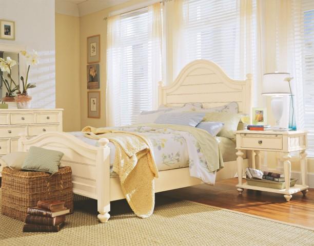 Camden Buttermilk Panel Bedroom Set