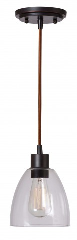 Edis Oil Rubbed Bronze 1 Light Mini Pendant
