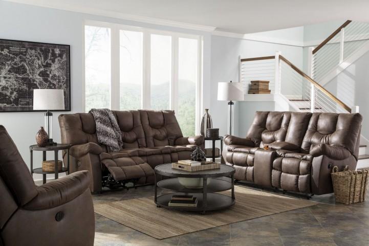 Burgett Espresso Reclining Power Reclining Living Room Set