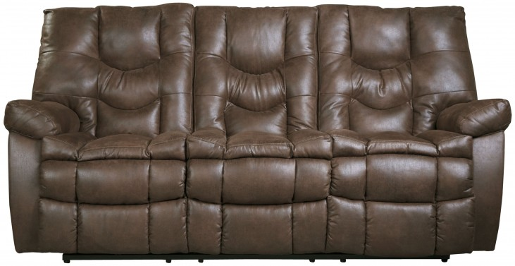 Burgett Espresso Power Reclining Sofa