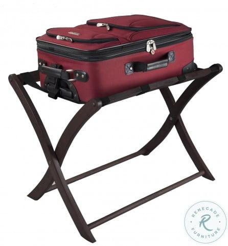 Scarlett Espresso Luggage Rack