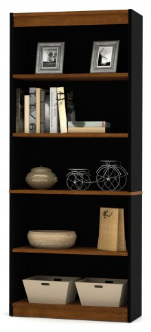 Innova Tuscany Brown & Black Bookcase