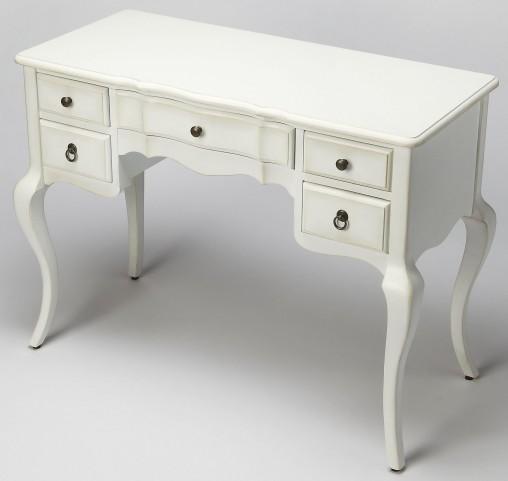 Sadie Cottage White Writing Desk