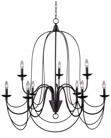 Pannier 9 Light Chandelier