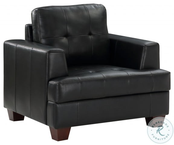 Hinsall Black Chair