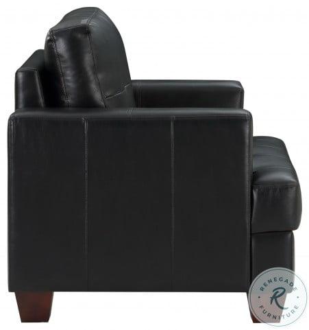 Hinsall Black Living Room Set