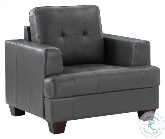 Hinsall Gray Chair