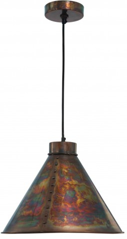 Cuprum Lamed Copper 1 Light Pendant