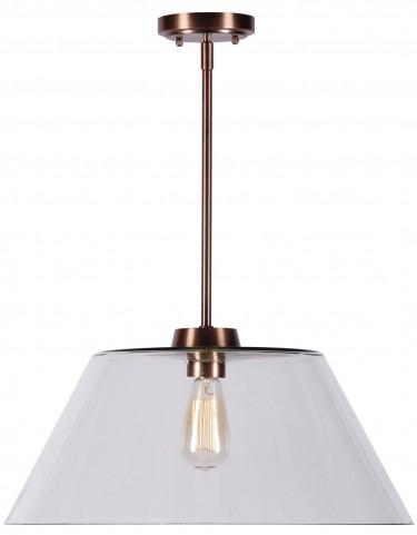 Nancy Copper 1 Light Pendant