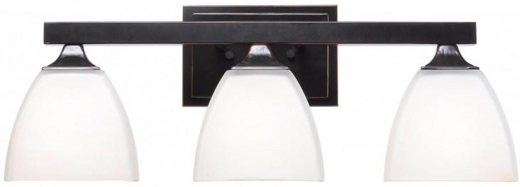 Helix Oil Rubbed Bronze 3 Light Vanity