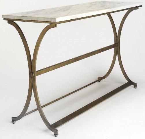 Pamina Travertine Console Table