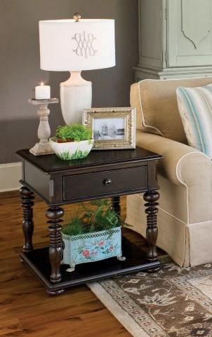 Paula Deen Home Tobacco Rectangular End Table