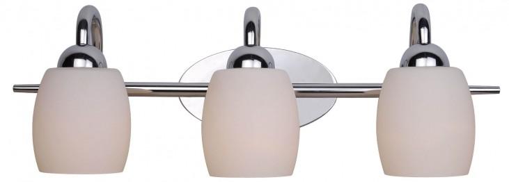 Amador Chrome 3 Light Vanity