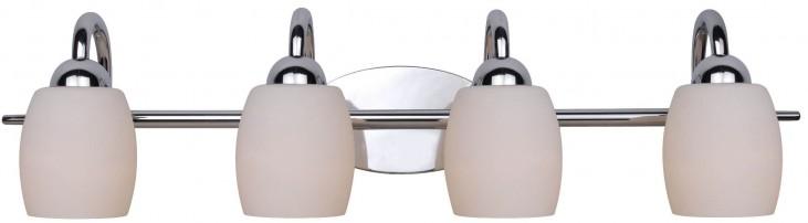Amador Chrome 4 Light Vanity