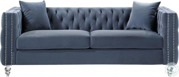 Orina Blue Sofa