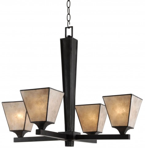 Capell Oil Rubbed Bronze 4 Light Chandelier