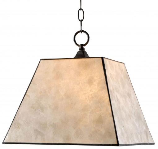 Capell Oil Rubbed Bronze 1 Light Pendant