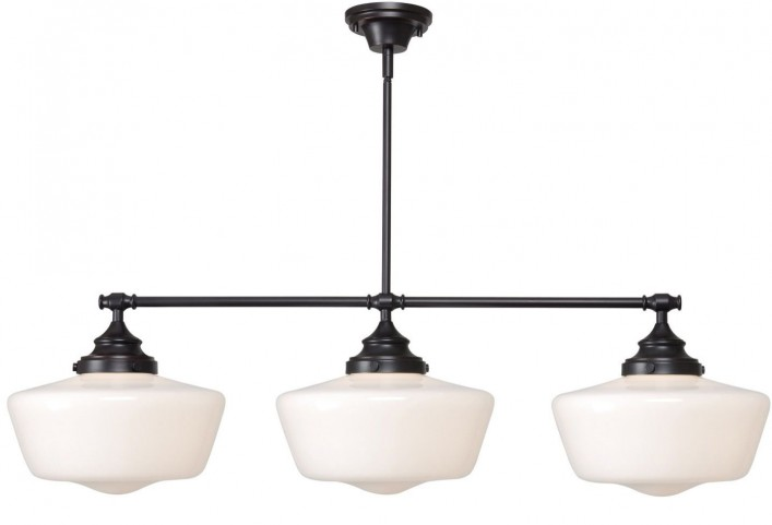 Cambridge Oil Rubbed Bronze 3 Light Island Light