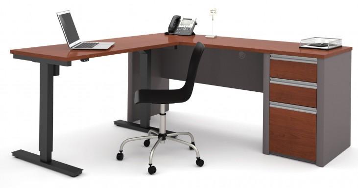 Connexion Bordeaux & Slate L-Desk