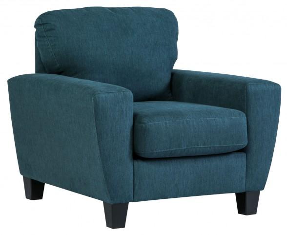 Sagen Teal Chair