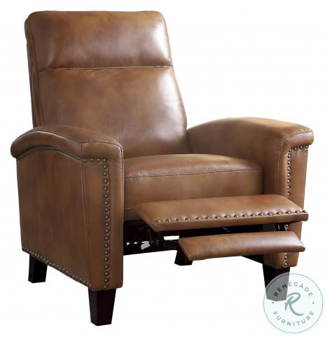 Weiser Brown Push Back Reclining Chair
