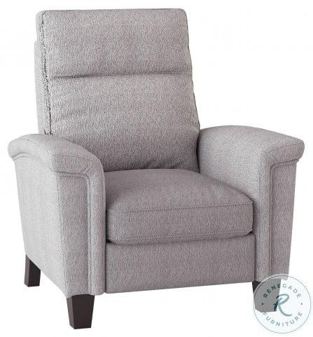 Weiser Light Gray Push Back Reclining Chair