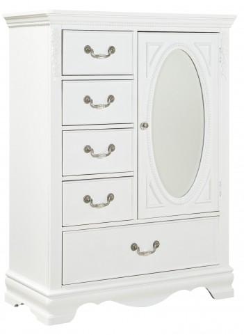 Jessica Clean White Wardrobe