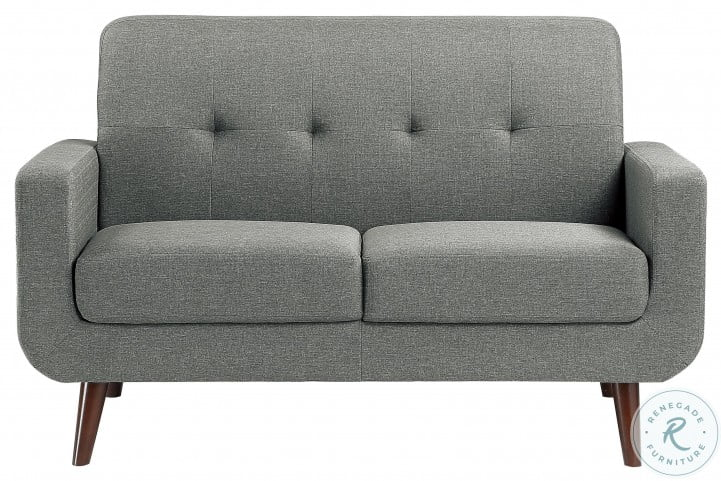 Fitch Gray Loveseat