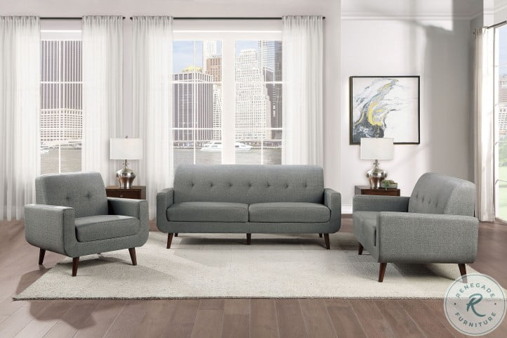 Fitch Gray Living Room Set