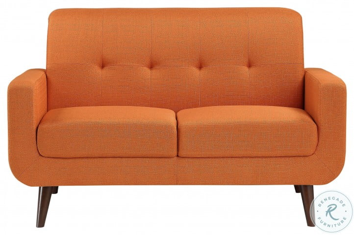 Fitch Orange Loveseat