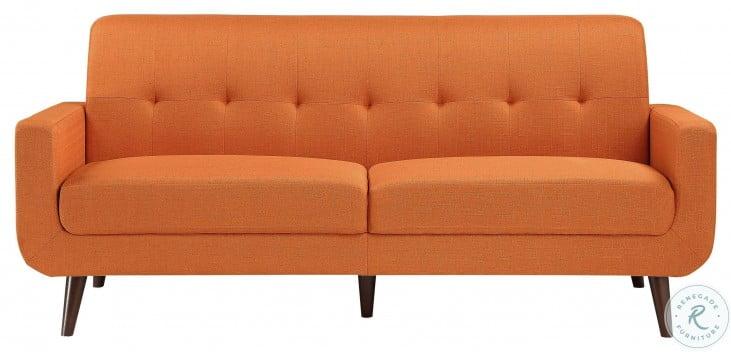 Fitch Orange Sofa