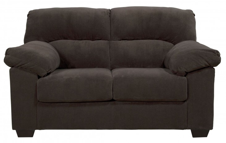 Zorah Chocolate Loveseat