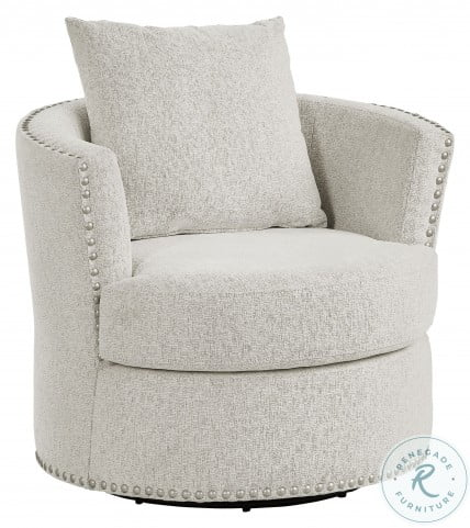 Morelia Beige Swivel Chair