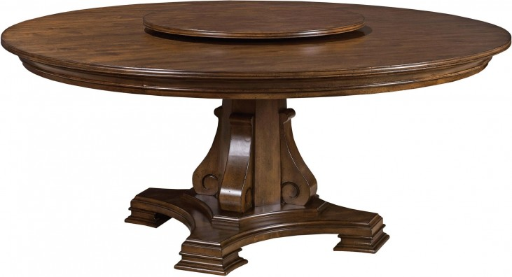 "Portolone 72"" Round Dining Table"