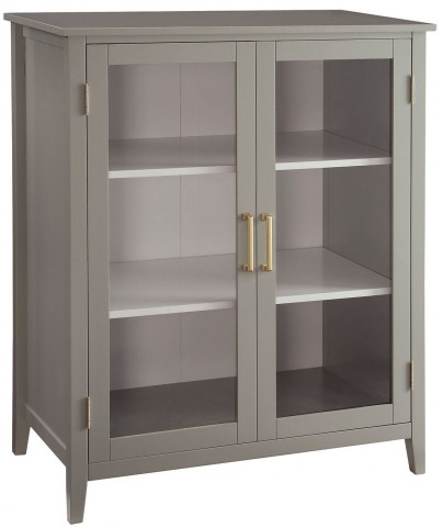Caprice Sage Painted Accent Cabinet by Donny Osmond