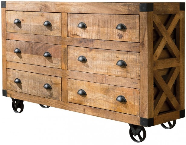 Antonelli Natural 6 Drawer Accent Cabinet by Donny Osmond
