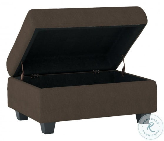 Maston Chocolate Storage Ottoman