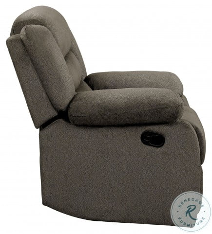 Discus Brown Double Reclining Living Room Set