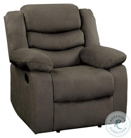 Discus Brown Reclining Chair