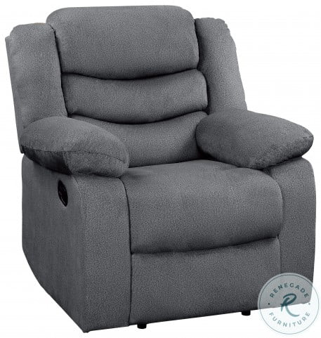 Discus Gray Reclining Chair