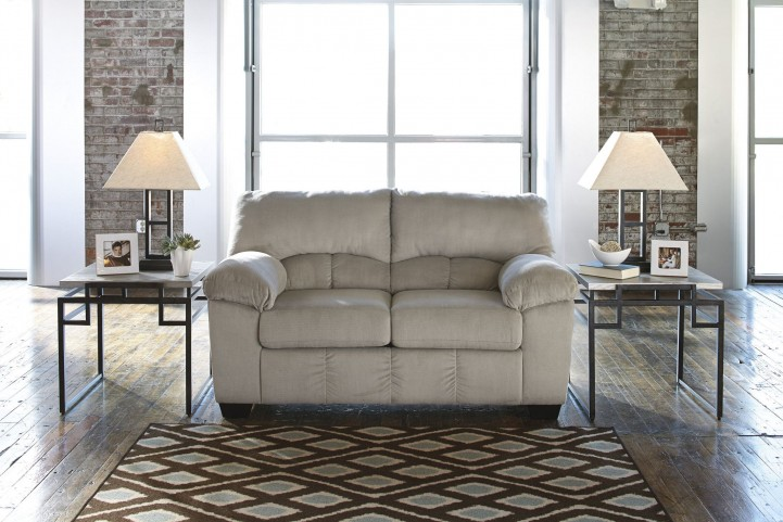 Dailey Alloy Loveseat